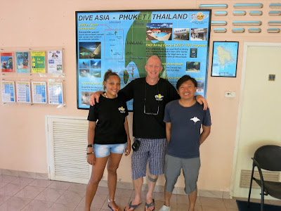 PADI IDC on Phuket for July 2016 has hit the half way mark