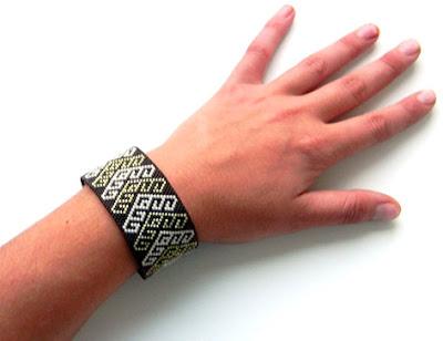 купить заказать украшения ручной работы украина браслет из бисера миюки делика Anabel
