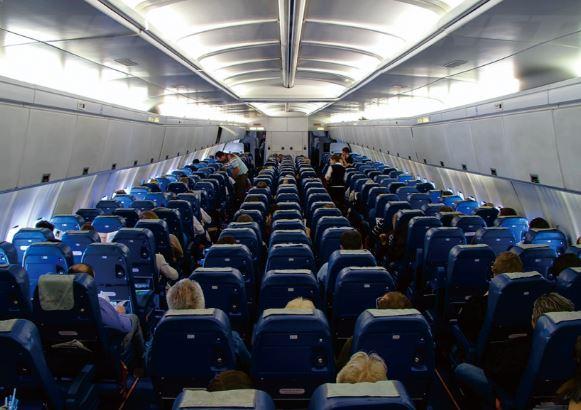 Ilyushin IL-96-300 cabin