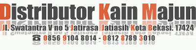 distributor kain majun