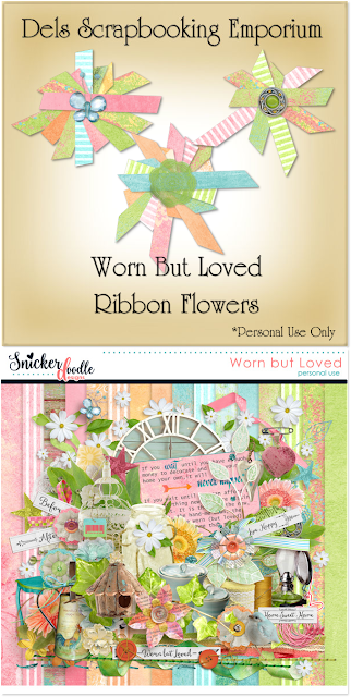 Worn But Loved Ribbon Flowers