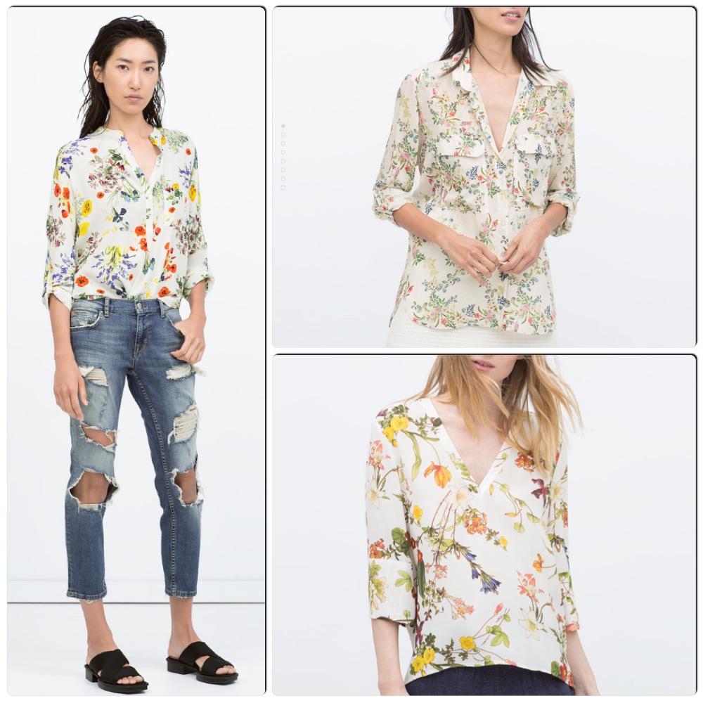 Blusas Blog Y Camisas Zara Tops De ffETSwqZ ba5780855b4