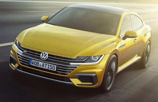 Volkswagen Arteon front