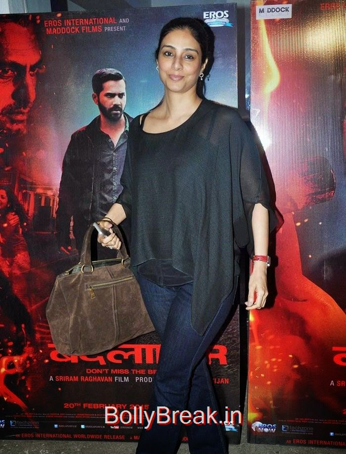 Tabu, Radhika Apte Hot Images At 'Badlapur' Special Screening