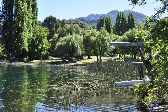 Pontos turísticos no Lago Steffen em Bariloche