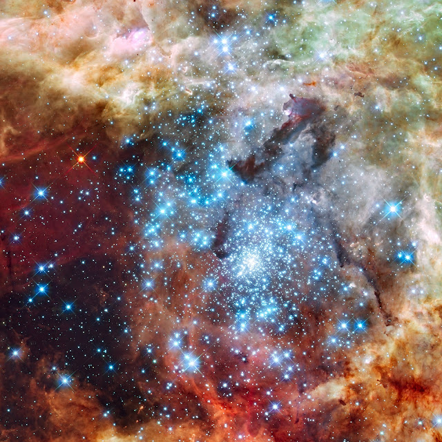 Star Clusters in 30 Doradus Nebula