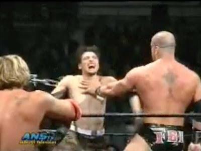 Xtreme Mark contro Johnny Stamboli all'Xtreme Tour
