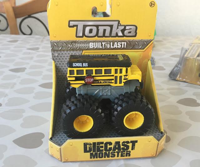 Tonka yellow monster truck in packet