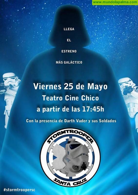 Stormtrooper Santa Cruz en Teatro Cine Chico de Santa Cruz de La Palma