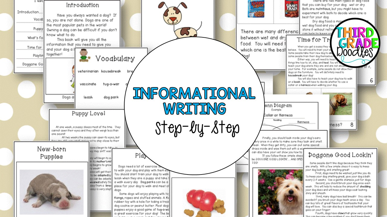small resolution of How To Writing Activities For 3rd Grade