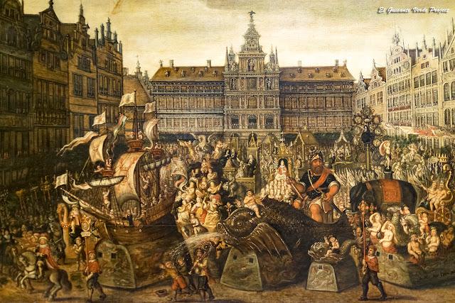 Fiesta Barroca en Grote Markt, Museo MAS - Amberes por El Guisante Verde Project