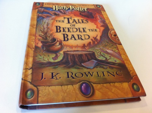 tales of beedle the bard audio book