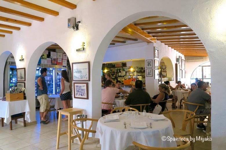 CASA FEDERICO パエリア料理店カサ・フェデリコの店内