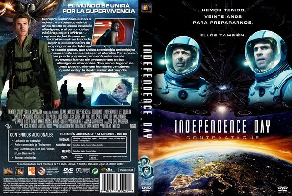 Independence Day: Resurgence – Latino, Inglés