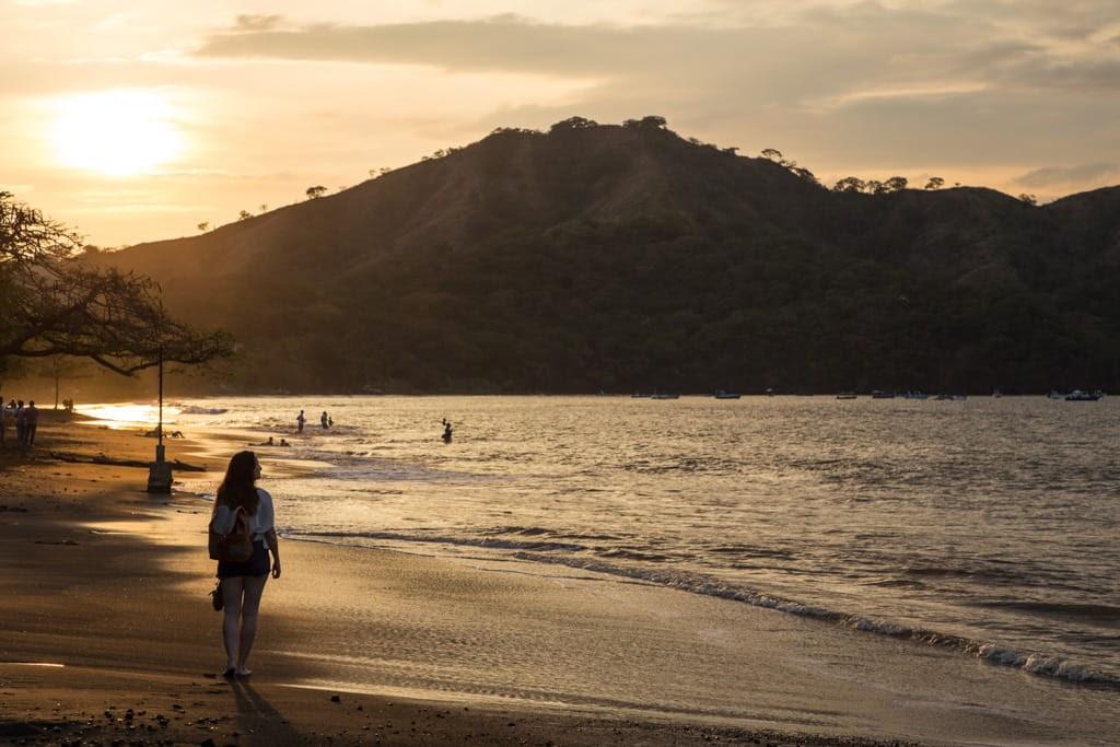Atardecer en playas del Coco, Guanacaste