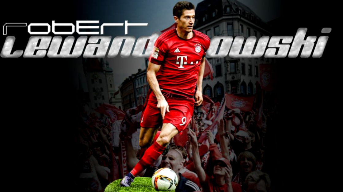 Lewandowski Cartoon Wallpaper