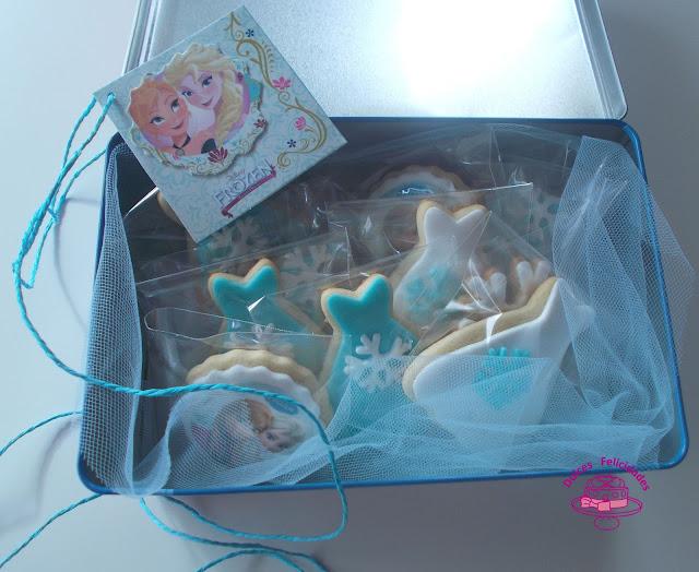 Caja de galletas Frozen