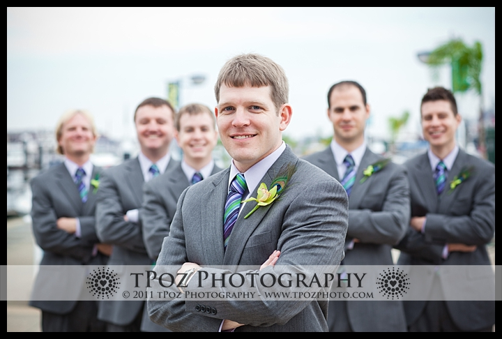 Tabrizi's Baltimore Wedding Photo groomsmen