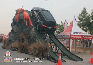 motor show decoration