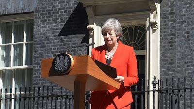 Waziri Mkuu wa Uingereza Theresa May Atangaza Kung'atuka