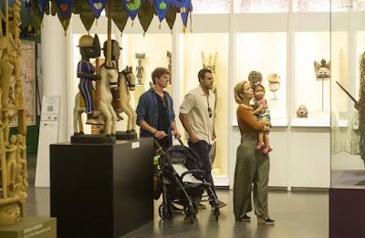 Em 'Toda Forma de Amar', a família passeia pelos jardins e visita o museu Afro Brasil