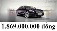 Giá xe Mercedes CLA 250 2017