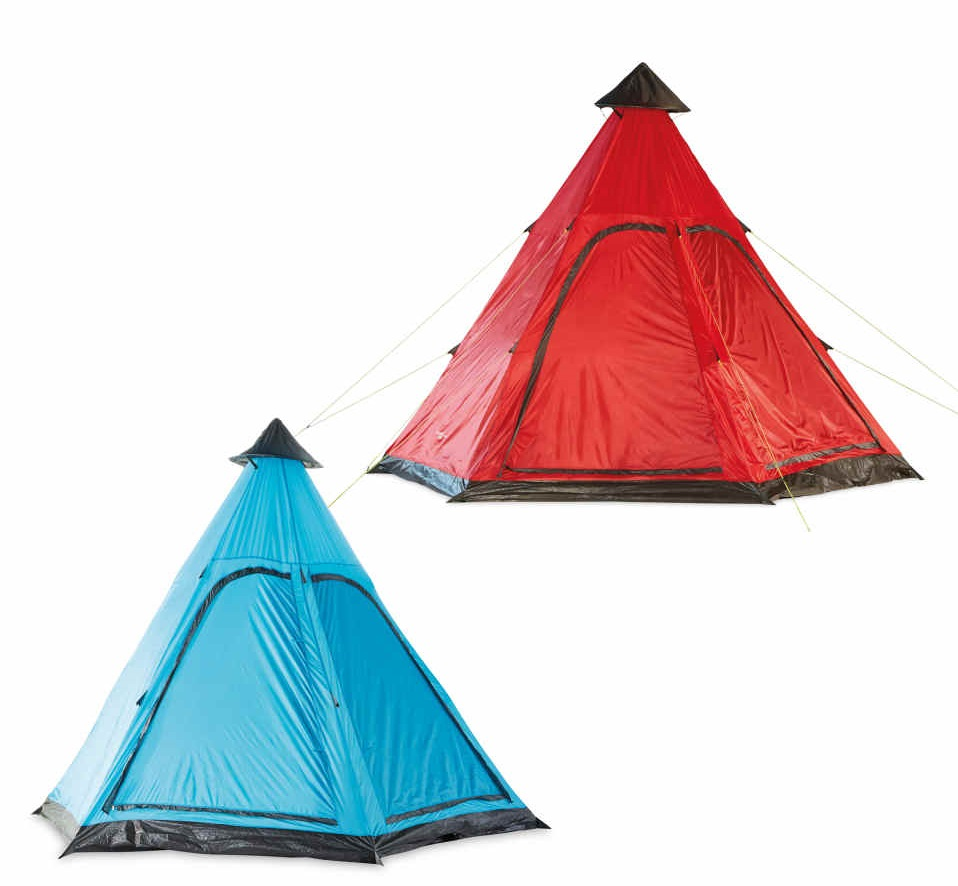 Aldi's camping Specialbuys include a