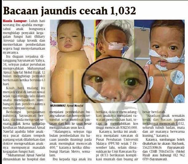 Bacaan Jaundis Cecah 1032