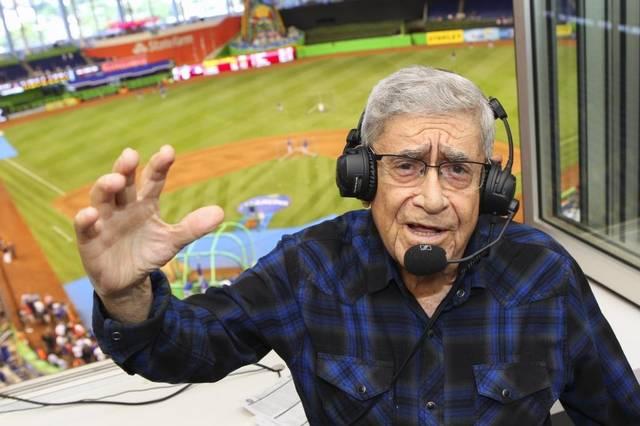 La leyenda de Felo Ramírez continúa enamorandonos desde lo alto del Marlins Park