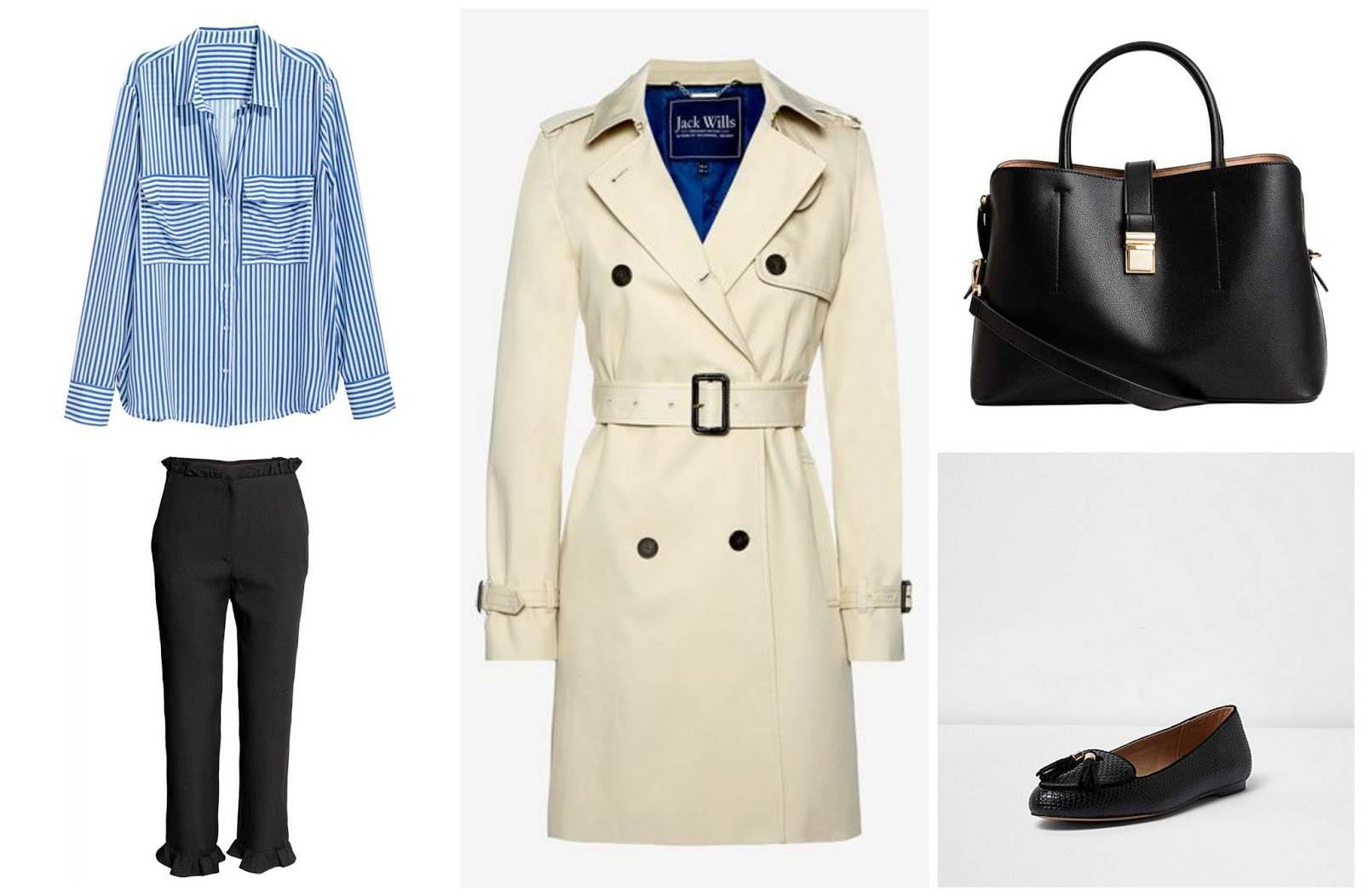 Three Ways to Style a Trench Coat - Nine to Five