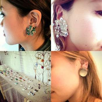 Vintage Earrings Collection