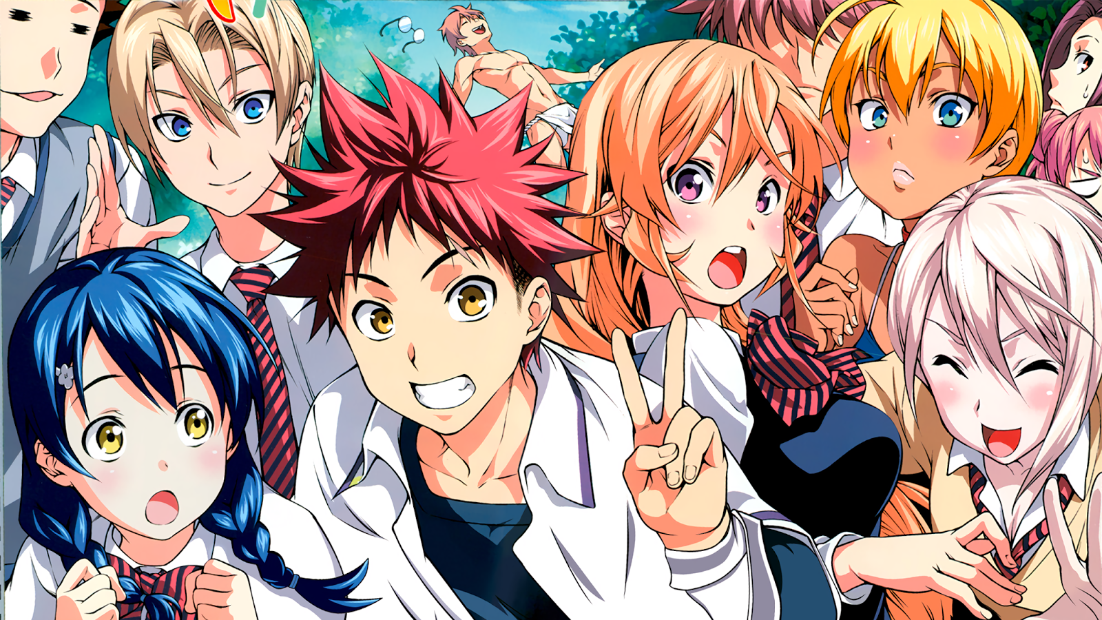 Food Wars! Shokugeki no Soma Anime's 3rd Season gets Teaser Trailer Featuring  Council of Ten