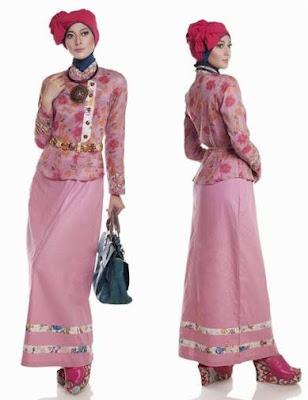 baju batik modern hijab terbaru