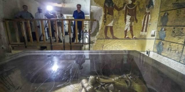 Terkuak 2 Kamar Misterius Makam Firaun Tak Dibuka Selama 3000 Tahun, Ternyata Isinya..