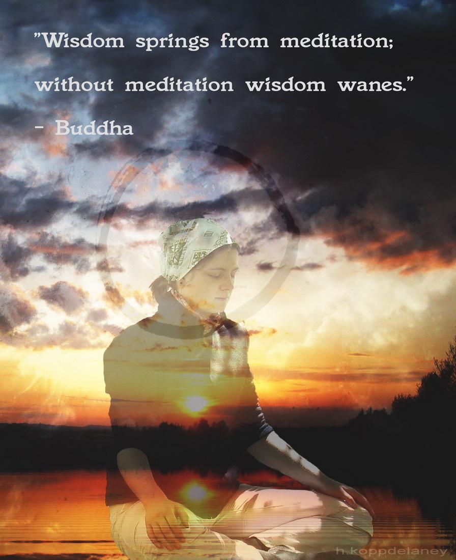 Meditation Quotes Wisdom. QuotesGram
