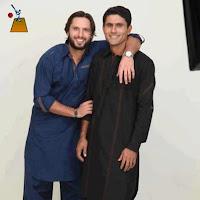 Shahid afridi with Abdur Razzaq