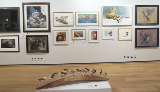 More artwork in the wildlife artist of the year 2015 exhibition at the mall galleries