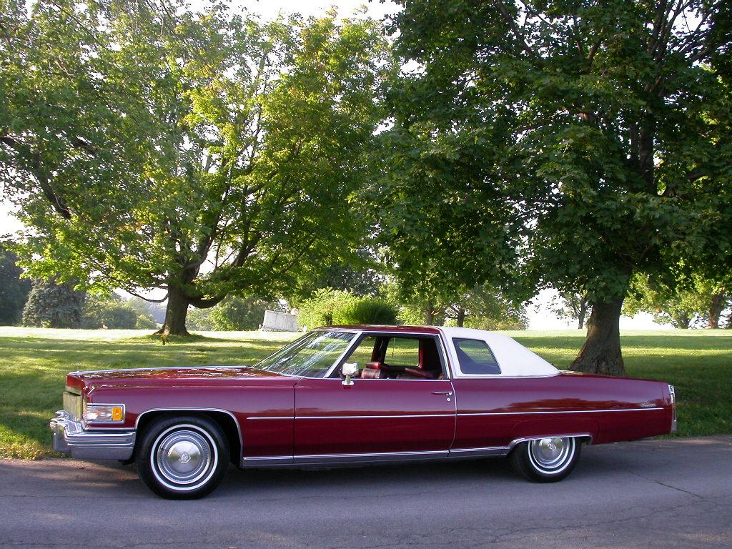 2015 Ford Bronco >> All American Classic Cars: 1975 Cadillac Coupe de Ville 2-Door Hardtop