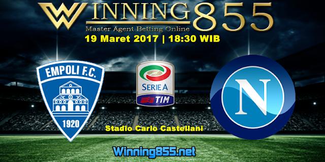 Prediksi Skor Empoli vs Napoli 19 Maret 2017