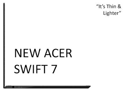 New Acer Swift 7 Lebih Tipis dan Ringan