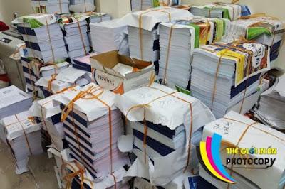 Photocopy giá rẻ số lượng lớn đảm bảo chất lượng
