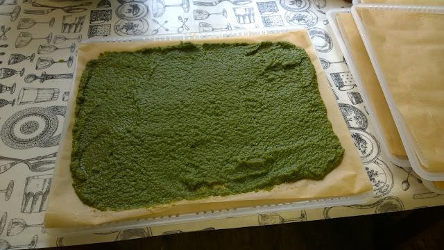 püriertes Gemüse wird getrocknet (c) by Joachim Wenk