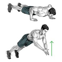 Clapping push up - explosive push up