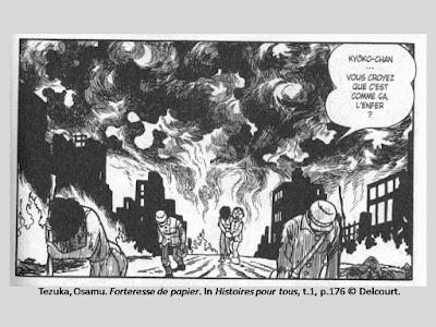 Tezuka, Osamu. Histoires pour tous, t.1, p.176 © Delcourt