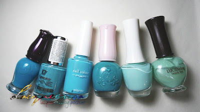 Polishes and Tools Used