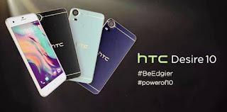 Harga HTC Desire 10 Pro Terbaru dengan Spesifikasi Kamera 20 MP