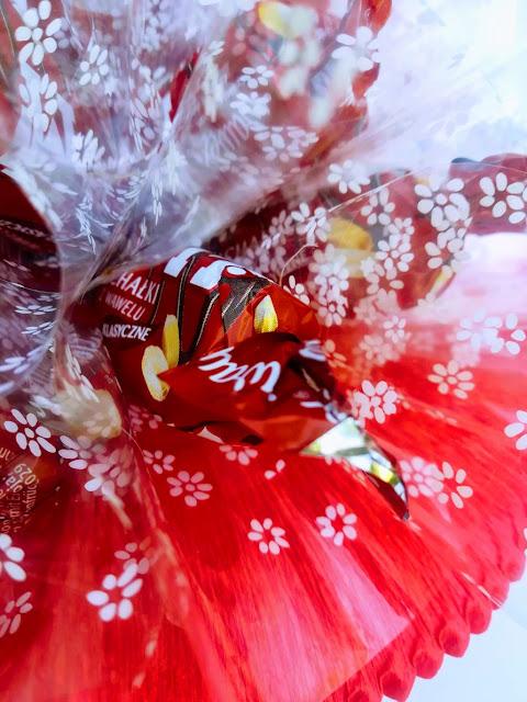 Bukiet z cukierków dla nauczyciela