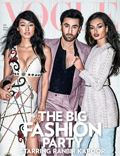 Ranbir Kapoor on Cover Page of Vogue India magazine September 2016