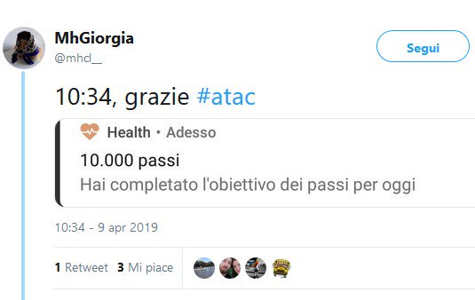 Situazione Trasporto Pubblico Roma mercoledì 10 aprile