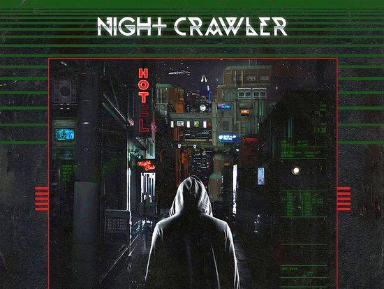 NIGHTCRAWLER - Metropolis [vinyl LP edition] (2017) sleeve